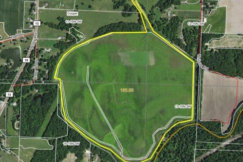 185 acre web aerial
