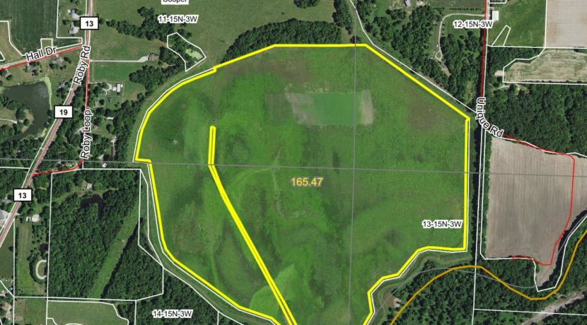 185 acre web field aerial