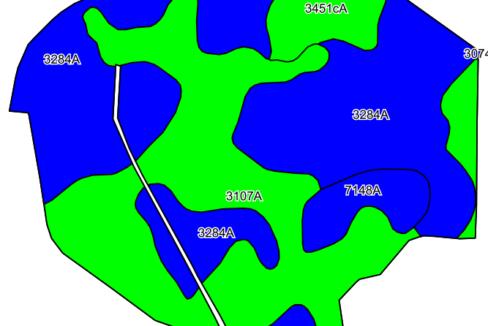 185 acre web soil map