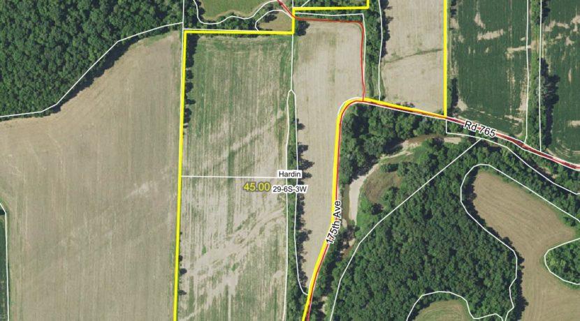 45 acre web aerial