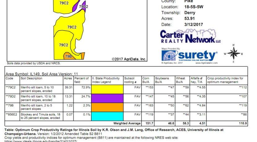80 acre web soil map
