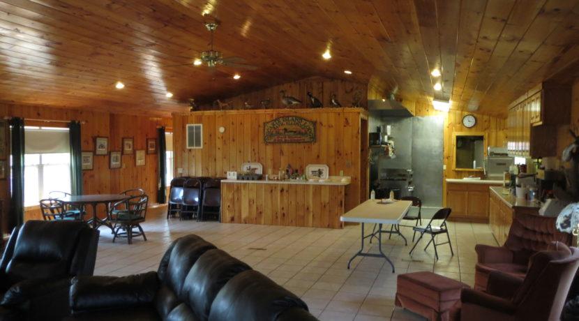 Lodge inside