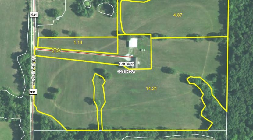 47 acre web field aerial